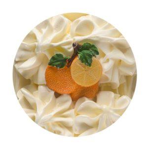 Muestra de Helados Llinares Sabor Mandarina